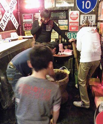 岩手 アメリカ雑貨屋 サンブリッヂ 雑貨通販 雑貨屋餅つき