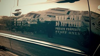 岩手 アメリカ雑貨屋 サンブリッヂ 雑貨通販 ステンシルで車をカスタム ステンシルシート