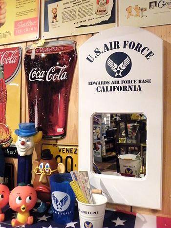 岩手 アメリカ雑貨屋 サンブリッヂ 雑貨 通販 エアフォースミラー エアフォースパブミラー