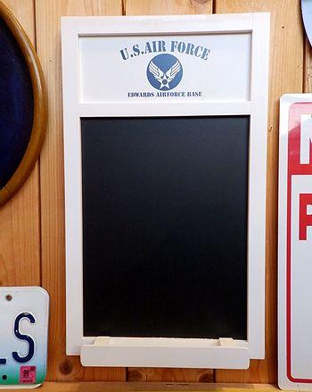 岩手 アメリカ雑貨屋 サンブリッヂ 雑貨 通販 エアフォースチョークボード