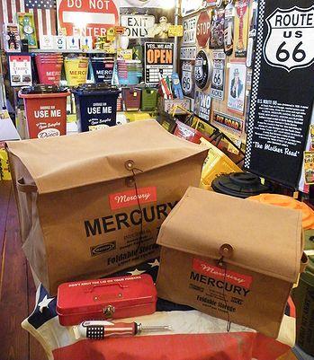 岩手 アメリカ雑貨屋 サンブリッヂ 雑貨 通販 マーキュリー収納ボックス MERCURY