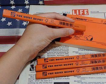 ホームデポット鉛筆 アメリカ雑貨屋 SUNBRIDGE アメリカ雑貨