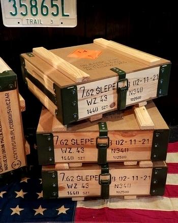 ポーランド軍アンモボックス新品 アメリカ雑貨屋サンブリッヂ 岩手雑貨屋 アメリカ雑貨通販