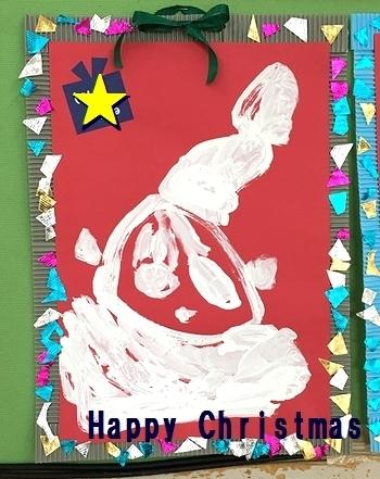 スタッフファミリーサンタクロース4歳児絵 アメリカ雑貨屋 SUNBRIDGE