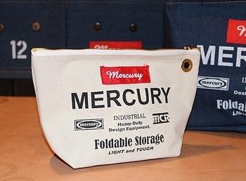 マーキュリーポーチ アメリカ雑貨屋 サンブリッヂ MERCURY