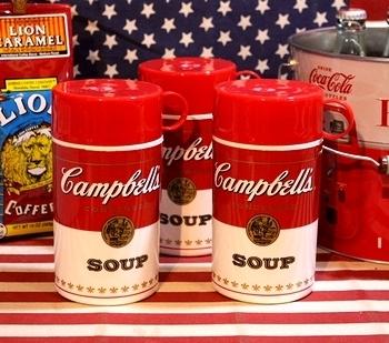 キャンベルスープボトル スープ弁当箱 アメリカ雑貨屋 サンブリッヂ 雑貨通販