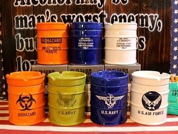ドラム型灰皿 アメリカ雑貨屋 サンブリッヂ 雑貨通販