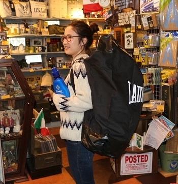 ランドリーパンチバッグ サンドバッグ アメリカ雑貨屋 サンブリッヂ 雑貨通販