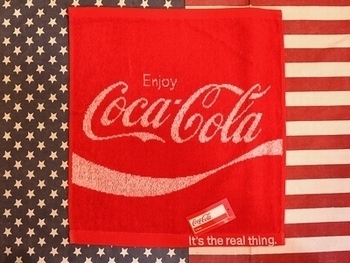 コカコーラタオル COCACOLAバスタオル アメリカ雑貨屋 SUNBRIDGE