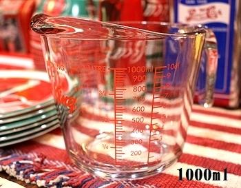 ファイヤーキング計量カップ1L アメリカ雑貨屋 サンブリッヂ 雑貨通販