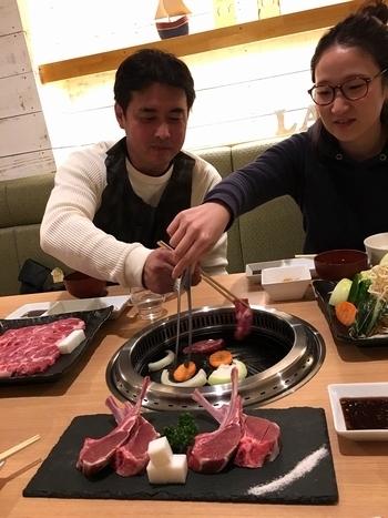 サンブリッヂ新年会 遠野食肉センター矢巾店 Lamb. アメリカ雑貨屋 SUNSBRIDGE