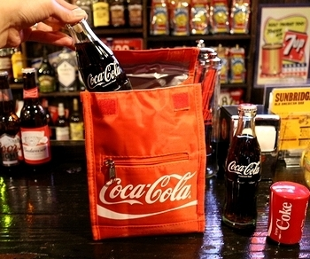 コカコーラ保冷ランチバッグ<div><br></div>アメリカ雑貨屋 サンブリッヂ 雑貨通販