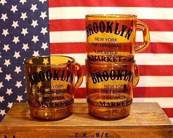 ブルックリンスタッキングマグ BROOKLYN アメリカ雑貨屋 SUNBRIDGE
