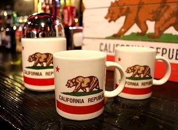 カリフォルニアマグカップ<div><br></div>アメリカ雑貨屋 サンブリッヂ 雑貨通販