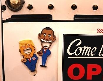 トランプ&オバマ アメリカ大統領オープナー アメリカ雑貨屋 SUNBRIDGE