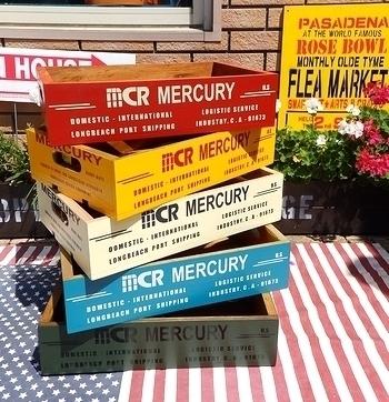 アメリカ木箱 USAウッドクレート アメリカ雑貨屋 サンブリッヂ 雑貨通販