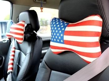 USAネッククッション USAシートベルトカバー アメリカ雑貨屋 サンブリッヂ 雑貨通販