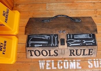 工具ラバーマット 工具ドアマット<div><br></div>アメリカ雑貨屋 サンブリッヂ 雑貨通販
