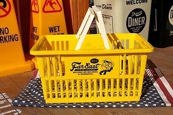 レディキロカゴ バスケット アメリカ雑貨屋 サンブリッヂ 岩手雑貨屋