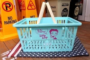 ベティちゃんカゴ ベティバスケット アメリカ雑貨屋 サンブリッヂ 岩手雑貨屋