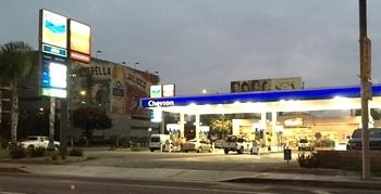 アメリカガソリンスタンドChevron アメリカ雑貨屋 サンブリッヂ 岩手雑貨屋