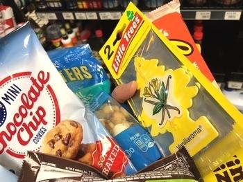 リトルツリー2枚セット アメリカ雑貨屋 サンブリッヂ 岩手雑貨屋