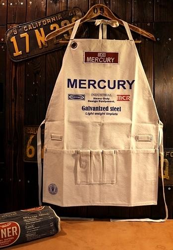 マーキュリーエプロン ワークエプロン MERCURY アメリカ雑貨屋 サンブリッヂ 岩手雑貨屋