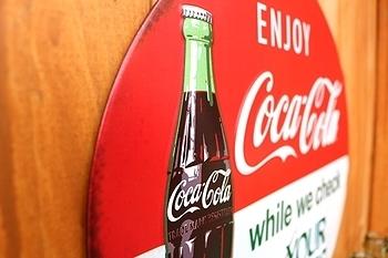 コカコーラ看板