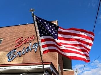 アメリカフラッグ 星条旗<div><br></div>アメリカ雑貨 サンブリッヂ 雑貨通販