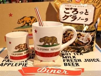 カリフォルニアビッグマグカップ アメリカ雑貨屋 サンブリッヂ 岩手雑貨屋