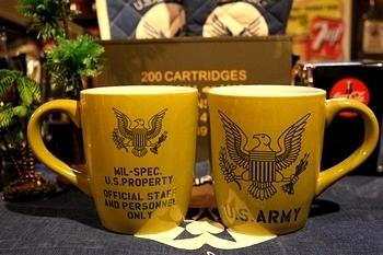 アーミービッグマグカップ アメリカ雑貨屋 サンブリッヂ 岩手雑貨屋