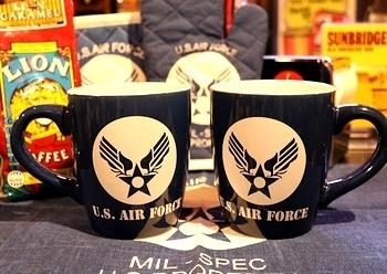 エアフォースビッグマグカップ アメリカ雑貨屋 サンブリッヂ 岩手雑貨屋