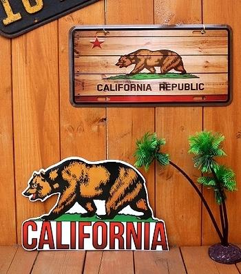 カリフォルニアフラッグ カリフォルニア旗 アメリカ雑貨屋 SUNBRIDGE 岩手 雑貨屋