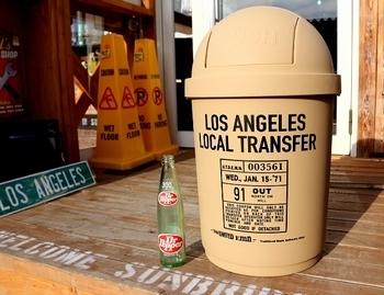 カルチャーマートダストボックス ロサンゼルスゴミ箱<div><br></div>アメリカ雑貨屋 SUNBRIDGE
