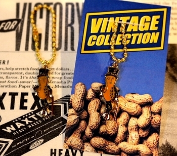 ミスターピーナッツピンズ ミスターピーナッツキーホルダー<div><br></div>アメリカ雑貨屋 サンブリッヂ アメリカ雑貨通販