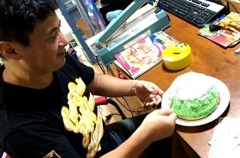 ガチャピンケーキ アメリカンケーキ<div><br></div>サンブリッヂ アメリカ雑貨屋 雑貨通販