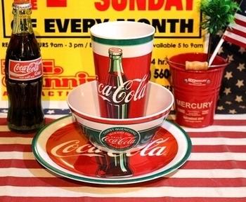 コーラタンブラー メラミン食器 アメリカ雑貨屋 サンブリッヂ コーラ雑貨通販