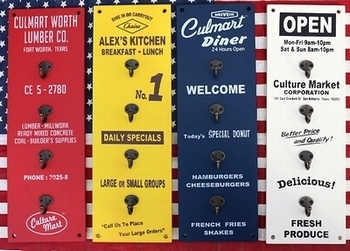 木製フックボード アメリカンボードフック カルチャーマート アメリカ雑貨屋 SUNBRIDGE 岩手矢巾 盛岡雑貨屋