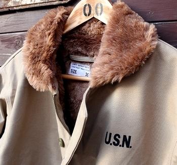 USタイプN-1デッキジャケット ミリタリージャケット <div><br></div>アメリカ雑貨屋 SUNBRIDGE