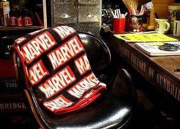マーベルブランケット アメコミ毛布 MARVEL アメリカ雑貨屋 SUNBRIDGE 岩手 盛岡雑貨屋