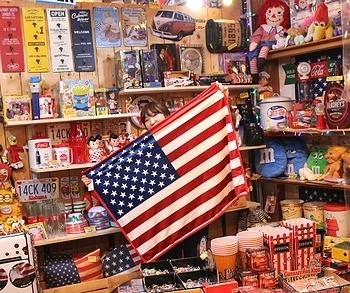 クウォーターブランケット ルート66 エアフォース 星条旗 マイクロファイバー アメリカ雑貨屋 サンブリッヂ 岩手 盛岡雑貨屋