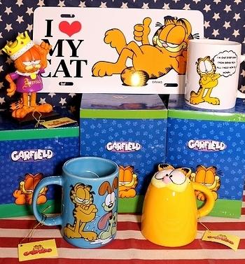 ガーフィールドマグカップ ガーフィールド雑貨通販<div><br></div>アメリカ雑貨 サンブリッヂ アメリカ雑貨通販