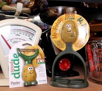 ミスターポテトマッシャー ミスターポテトピーラー アメリカ雑貨屋 サンブリッヂ アメリカ雑貨通販