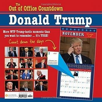 トランプ大統領2018年カレンダー カウントダウン Donald Trump<div><br></div>アメリカ雑貨屋 SUNBRIDGE 岩手 盛岡雑貨屋
