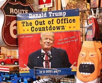 トランプ大統領2018年カレンダー カレンダー2018 カウントダウン Donald Trump<div><br></div>アメリカ雑貨屋 SUNBRIDGE 岩手 盛岡雑貨屋