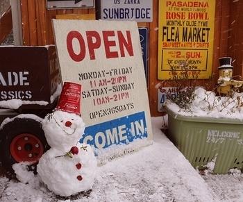 雪だるま 岩手雪だるま 雪まつり 雑貨屋サンブリッヂ SUNBRIDGE 矢巾雑貨屋
