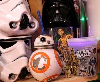 スターウォーズグッズ BB-8ストローボトル STARWARS  アメリカ雑貨屋 サンブリッヂ 岩手