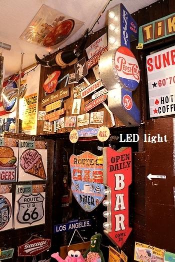 LEDサインステッカー<div><br></div>アメリカ雑貨屋 サンブリッヂ SUNBRIDGE 東北雑貨屋