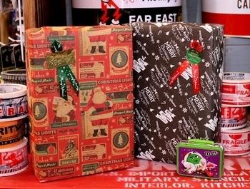 クリスマスラッピング アメリカンギフト <div><br></div>アメリカ雑貨屋 SUNBRIDGE 岩手
