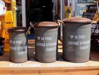 スウェーデン軍ドラム缶チェアー レプリカ新品 アメリカ雑貨屋 SUNBRIDGE